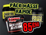 Pack Masse Rapide